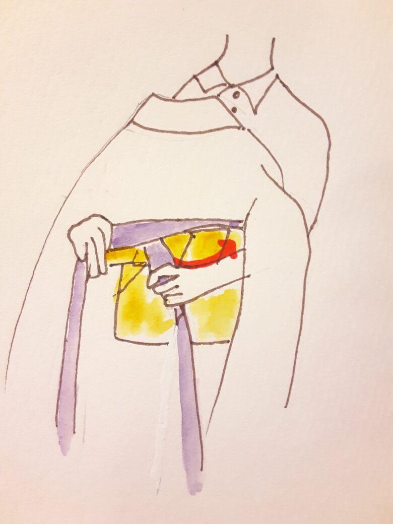 袴の着付け3-3