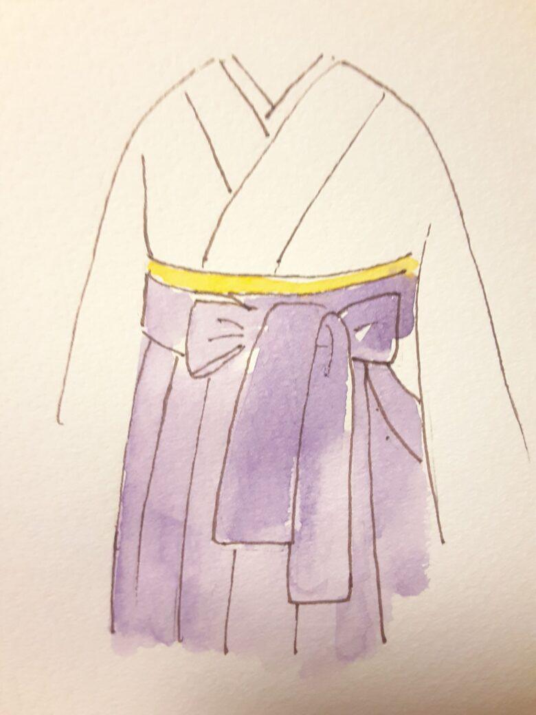 袴の着付け16