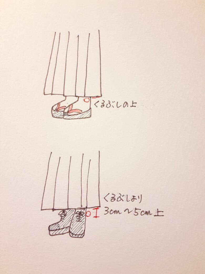 袴の着付け17