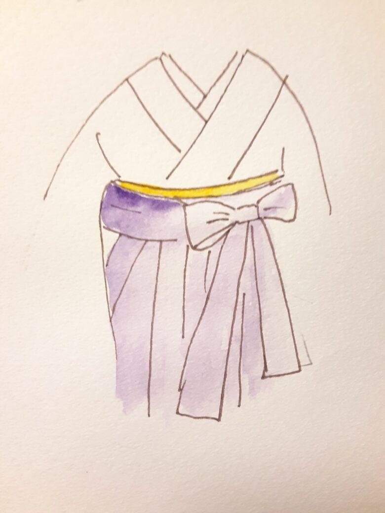袴の着付け14