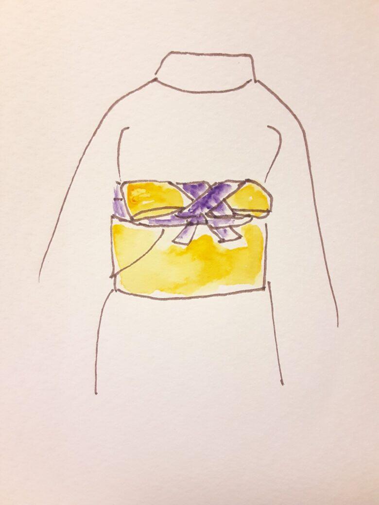 袴の着付け8