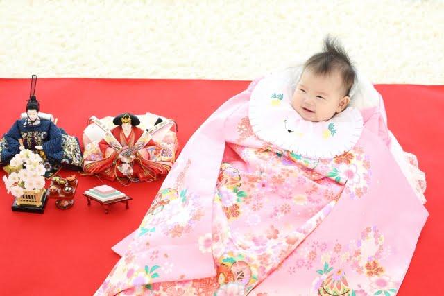 ひな祭りと赤ちゃん
