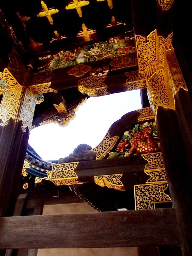 二条城玄関の内部