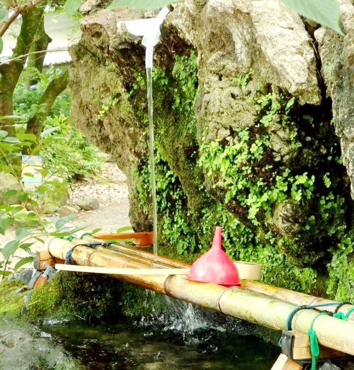 藤森神社の湧き水