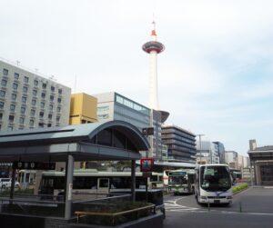 京都タワーを撮影した写真