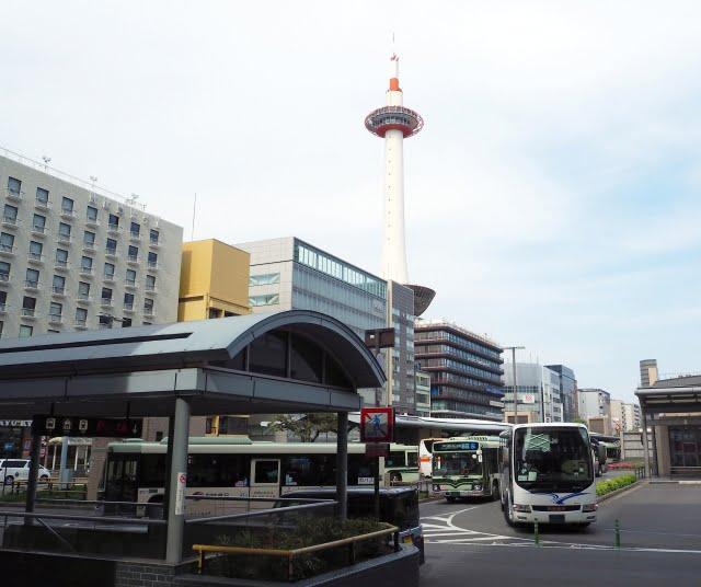 京都駅バス乗り場の画像