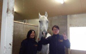 京都産業大学馬術部を撮影した写真