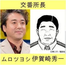 ドラマハコヅメキャストの画像を作成した写真